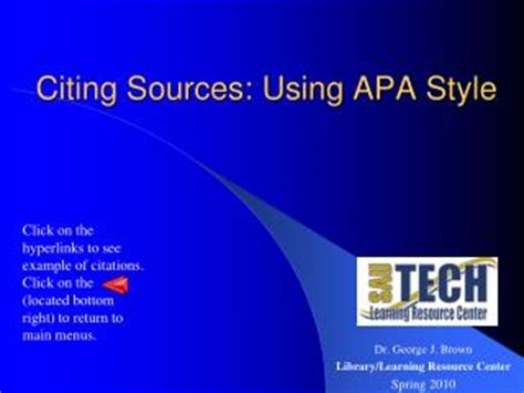 Literature Review Guidelines - apaorg